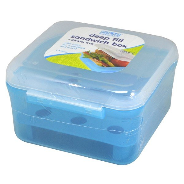 Polar Gear Sandwich Box 1.4 L - Turquoise