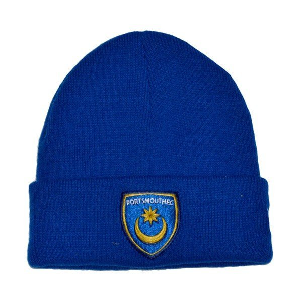 Portsmouth Royal Cuff Knitted Hat -54Cms