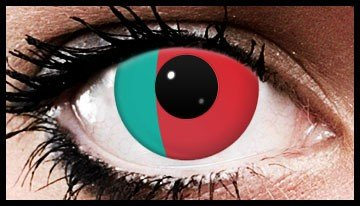 Portugal Flag Colour Contact Lenses (90 Day)
