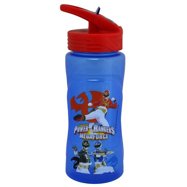 Power Rangers Megaforce Plastic Water Bottle
