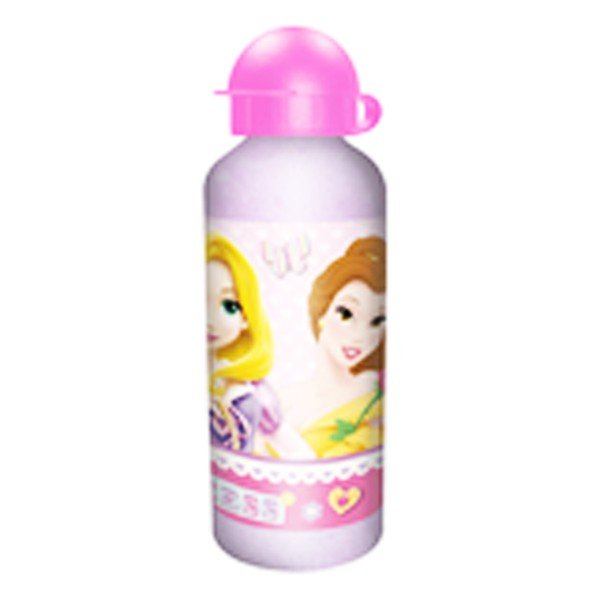 Princess Glitter Aluminium  Water Bottle