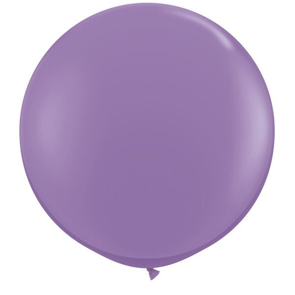 Qualatex 05 Inch Round Plain Latex Balloon - Spring Lilac