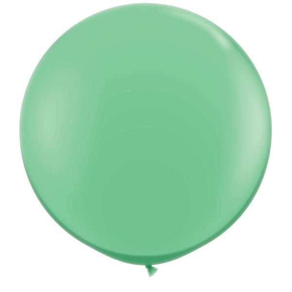 Qualatex 05 Inch Round Plain Latex Balloon - Winter Green
