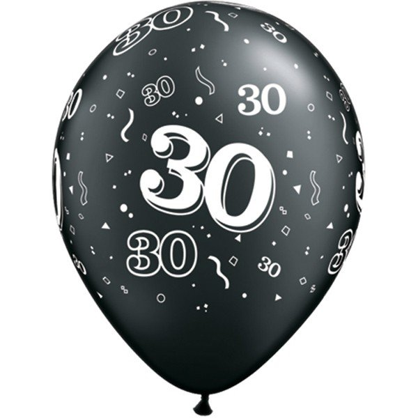 Qualatex 11 Inch Assorted Latex Balloon - 30 Around