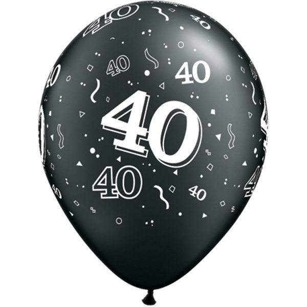 Qualatex 11 Inch Assorted Latex Balloon - 40 Around