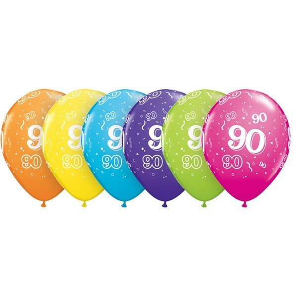 Qualatex 11 Inch Assorted Latex Balloon - 90 Around