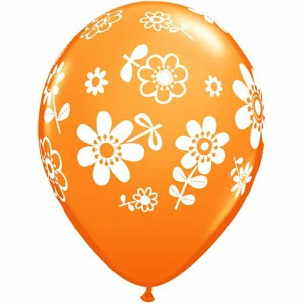Qualatex 11 Inch Assorted Latex Balloon - Daisies