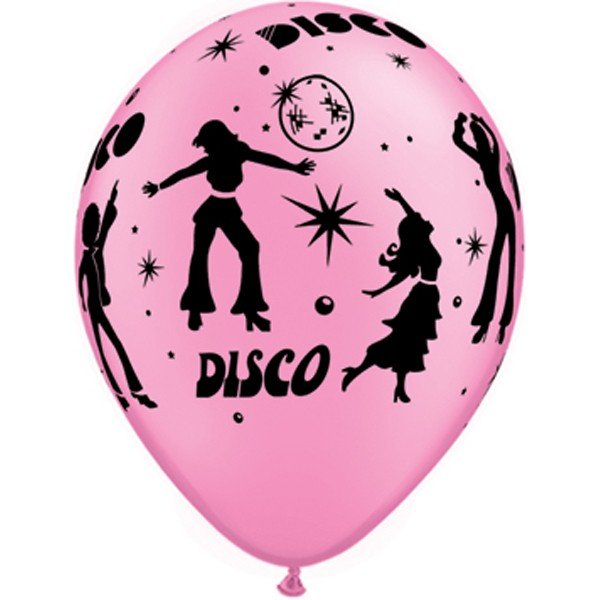 Qualatex 11 Inch Assorted Latex Balloon - Disco