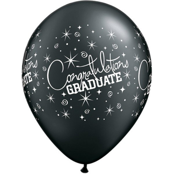 Qualatex 11 Inch Assorted Latex Balloon - Graduate
