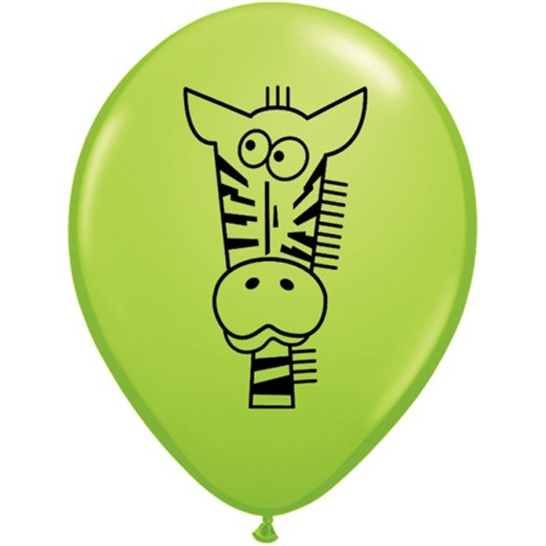 Qualatex 11 Inch Assorted Latex Balloon - Special Jungle