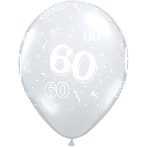 Qualatex 11 Inch Clear Latex Balloon - 60 Around
