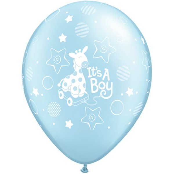 Qualatex 11 Inch Latex Balloon - Boy Soft Giraffe