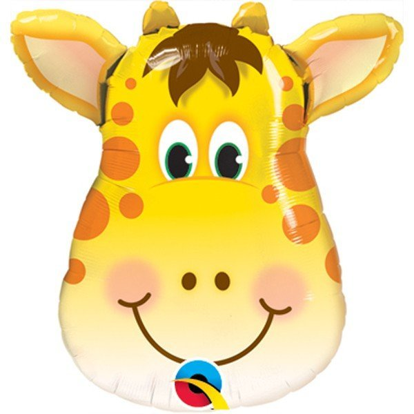 Qualatex 14 Inch Shaped Foil Balloon - Jolly Giraffe