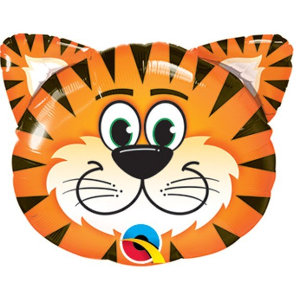 Qualatex 14 Inch Shaped Foil Balloon - Tickled Tiger