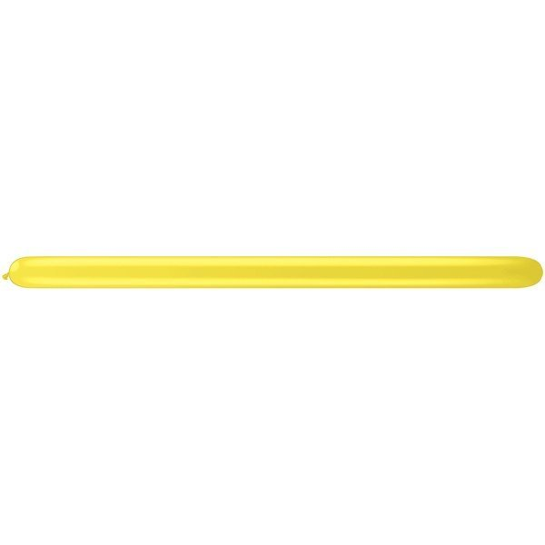 Qualatex 160Q Plain Latex Balloon - Citrine Yellow