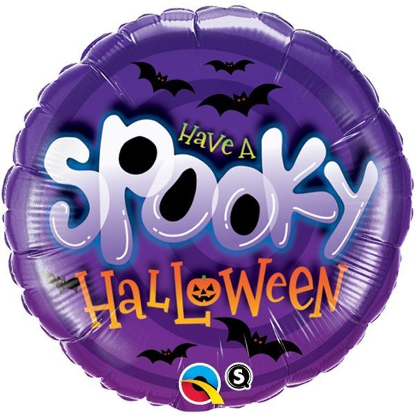 Qualatex 18 Inch Suprafoil Balloon - Spooky
