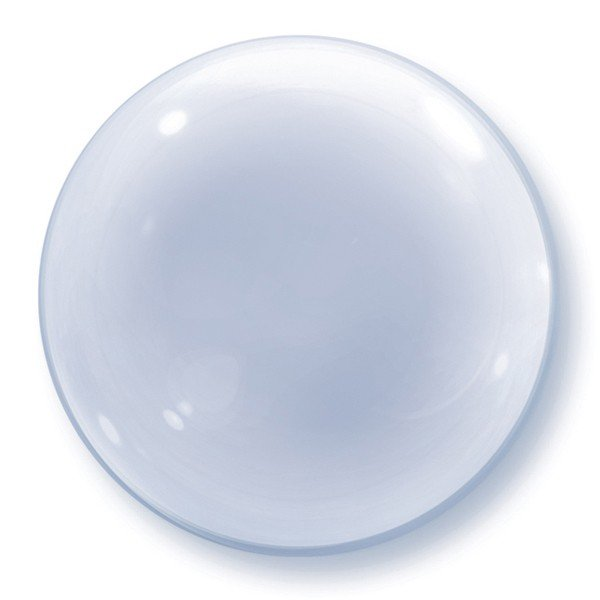 Qualatex 20 Inch Deco Bubble Balloon - Clear Bubble