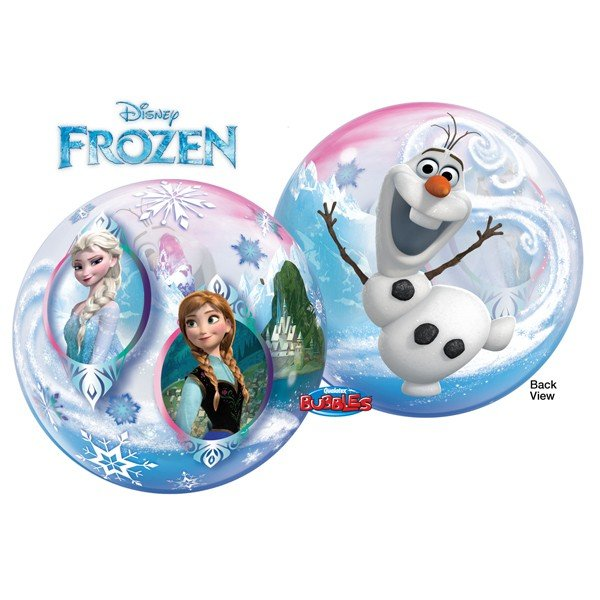 Qualatex 22 Inch Single Bubble Balloon - Disney Frozen