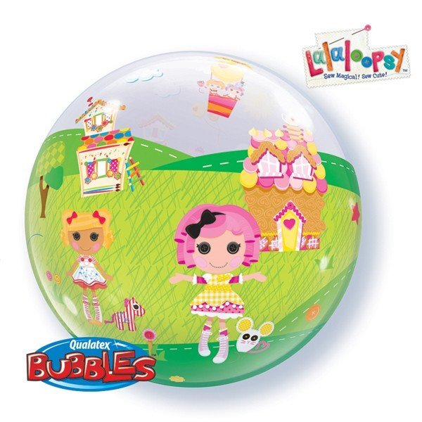 Qualatex 22 Inch Single Bubble Balloon - Lalaloopsy Land