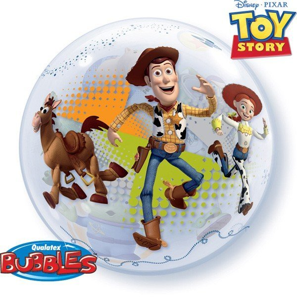 Qualatex 22 Inch Single Bubble Balloon - Toy Story