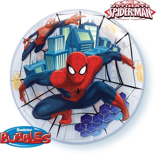 Qualatex 22 Inch Single Bubble Balloon - Ultimate Spider-Man