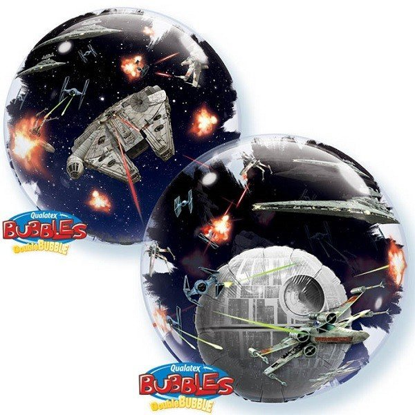 Qualatex 24 Inch Double Bubble Balloon - Star Wars