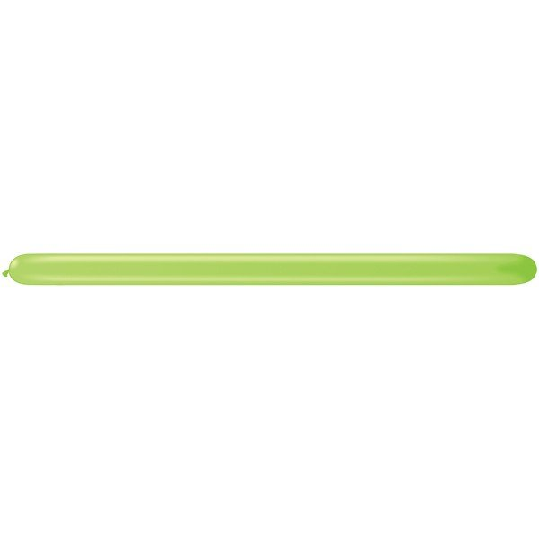 Qualatex 260Q Plain Latex Balloon - Lime Green