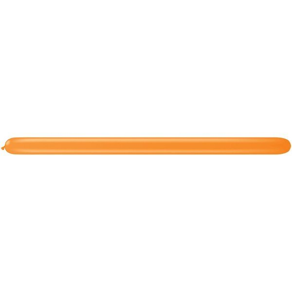 Qualatex 260Q Plain Latex Balloon - Orange