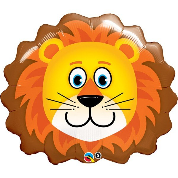 Qualatex 29 Inch Shaped Foil Balloon - Lovable Lion