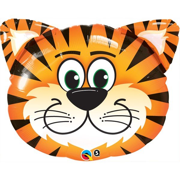 Qualatex 30 Inch Shaped Foil Balloon - Tickled Tiger