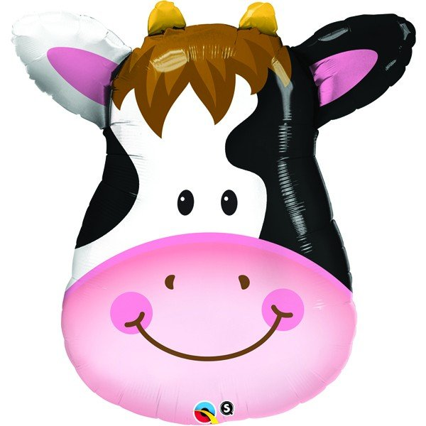 Qualatex 32 Inch Shaped Foil Balloon - Contented Cow