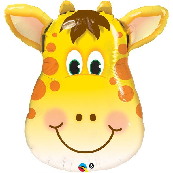 Qualatex 32 Inch Shaped Foil Balloon - Jolly Giraffe