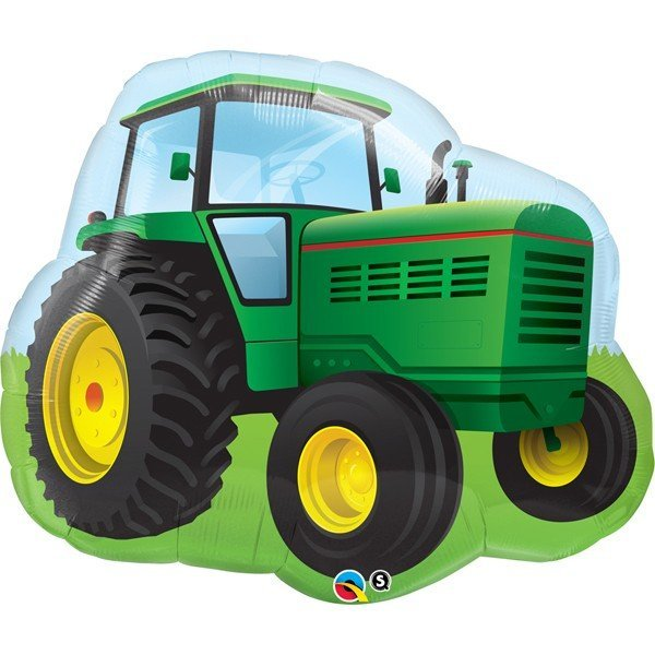 Qualatex 34 Inch Shaped Foil Balloon - Farm Tractor
