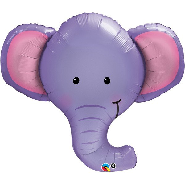 Qualatex 39 Inch Shaped Foil Balloon - Ellie The Elephant