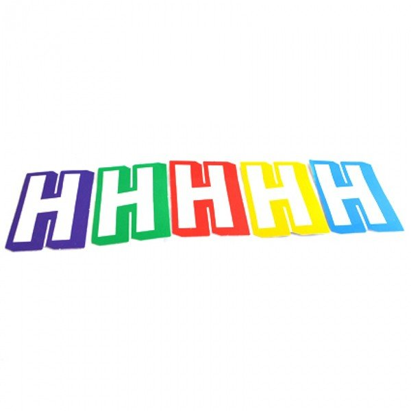 Qualatex Just Write Hanging Stickers - H