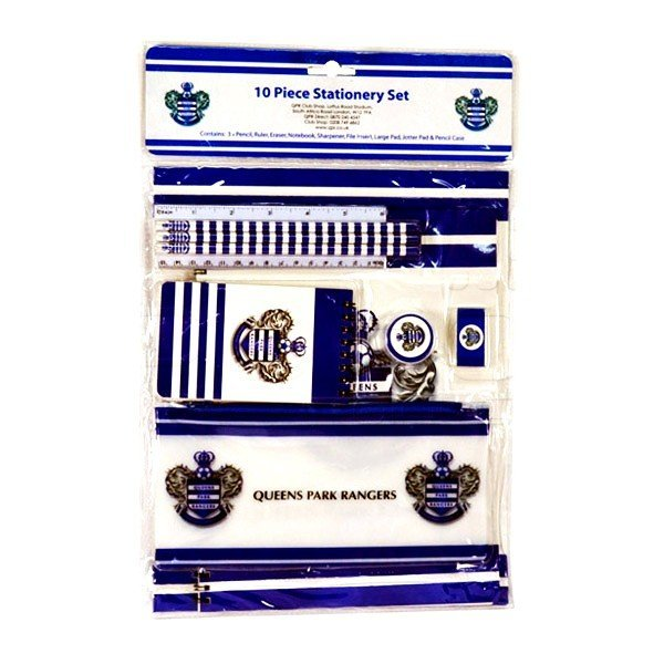 Queens Park Rangers 10PC Stationery Set