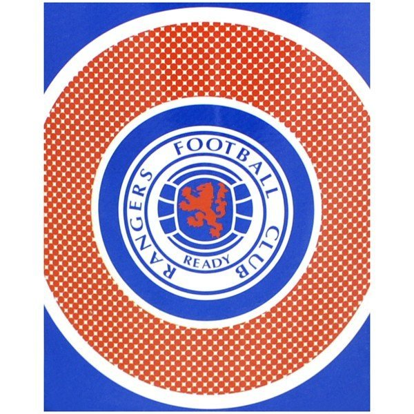 Rangers Bullseye Fleece Blanket