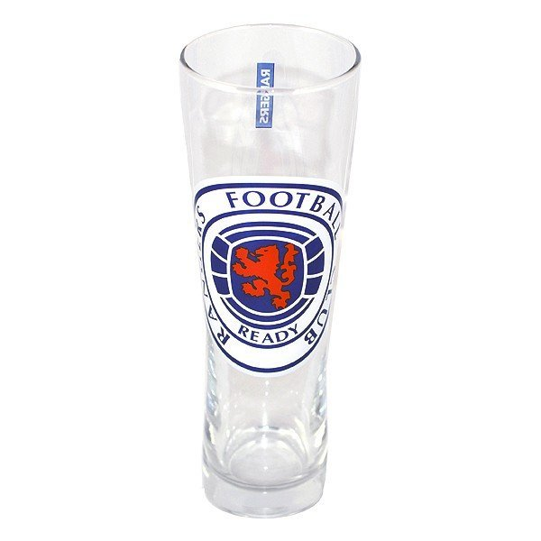 Rangers Colour Crest Peroni Pint Glass