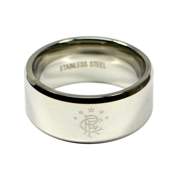Rangers Crest Band Ring - Small