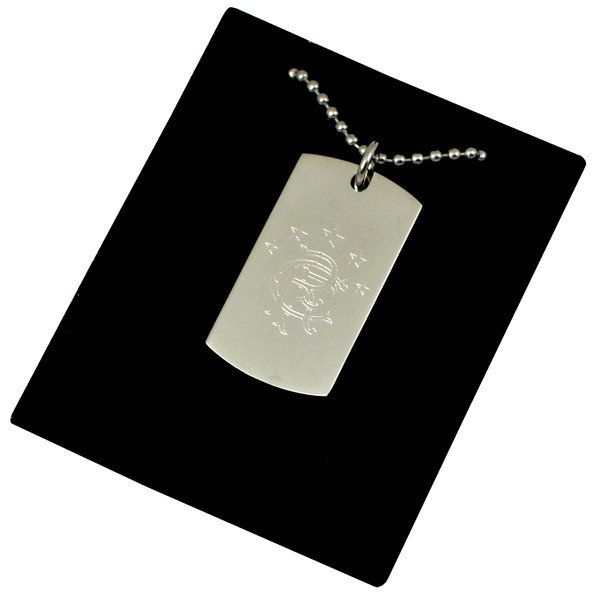 Rangers Crest Dog Tag & Chain