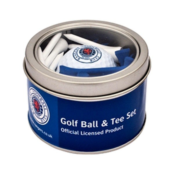 Rangers Golf Ball & Tee Set