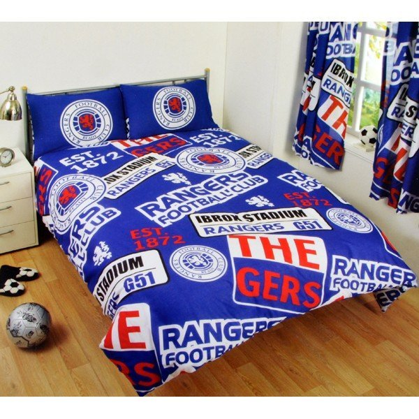 Rangers Patch Double Duvet Set