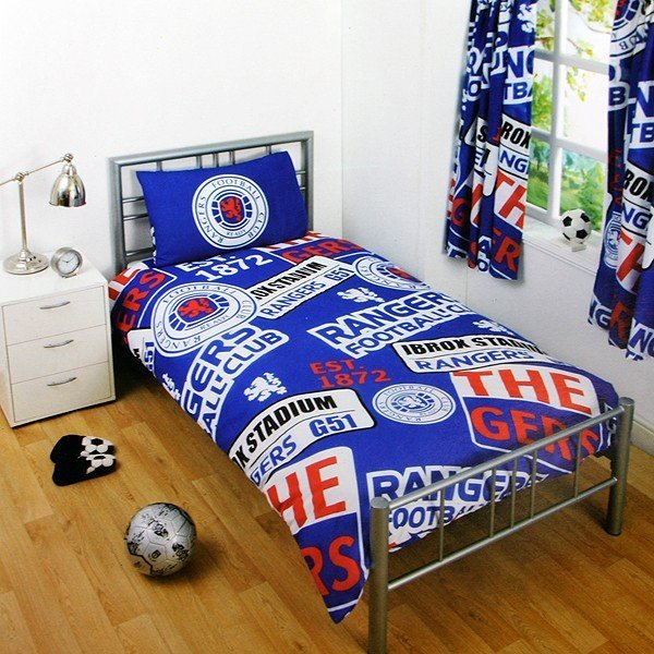Rangers Patch Single Duvet Set