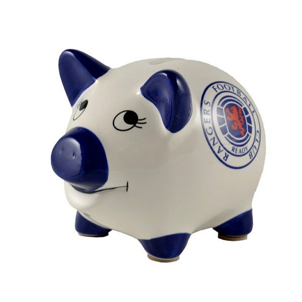 Rangers Piggy Bank