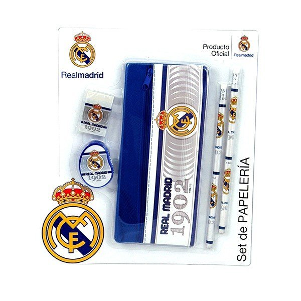 Real Madrid 5PC Stationery Set - GS56