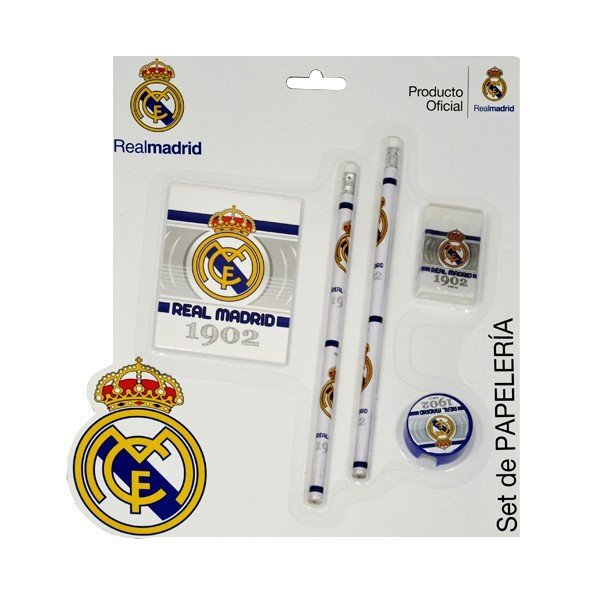 Real Madrid 5PC Stationery Set - GS57
