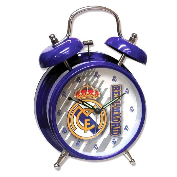 Real Madrid Alarm Clock - Blue