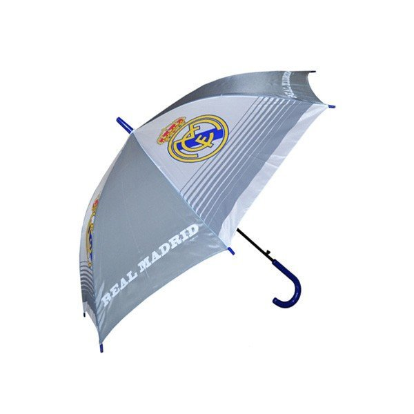 Real Madrid Automatic Umbrella - White
