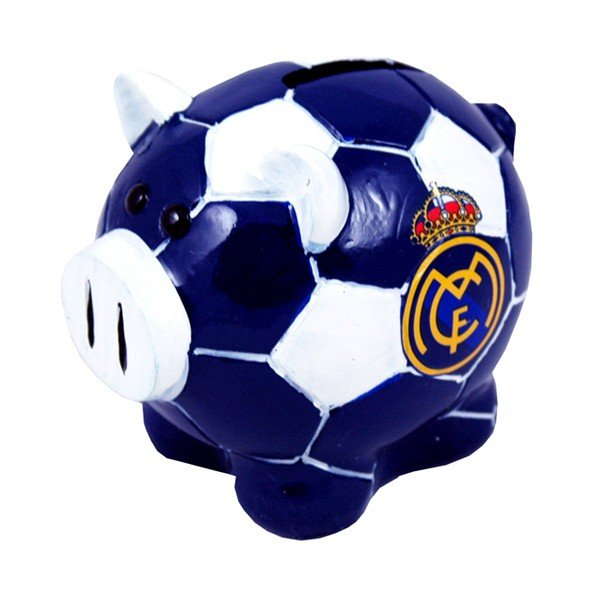 Real Madrid Ball Base Piggy Bank