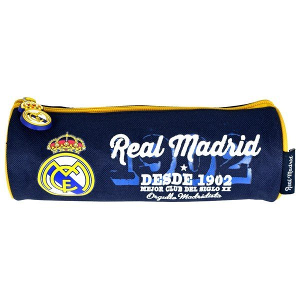 Real Madrid Barrel Pencil Case